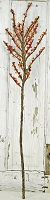 ISB1037-OR - Tall Lilac Berry Branch-Orange-6/72pcs