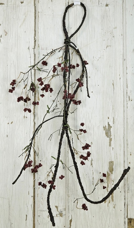 IS6620BG - 3 ft Willow Twig w/ Berries-BG-2/36pcs